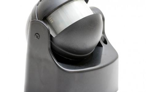 Motion sensor, side view.