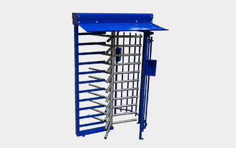 A picture of a multifunctional turnstile