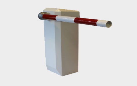 A Picture of an Automatic Raise Arm Barrier