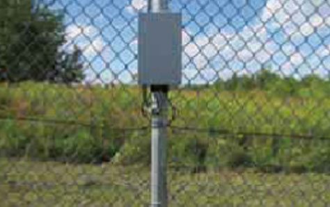 An image of Chain link fencing