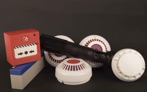 An image of Fire alarm security