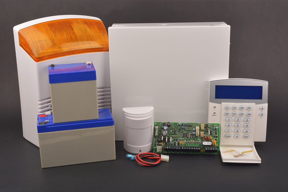A picture of domestic security alarm systems