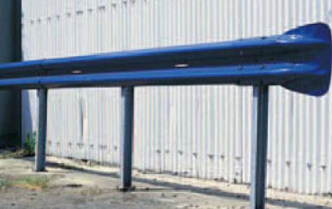 A picture of a crash barrier