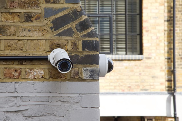 A picture of CCTV cameras