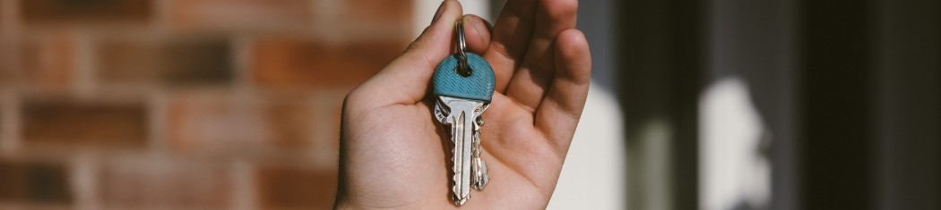 Secure homes require being locked when you aren't home.