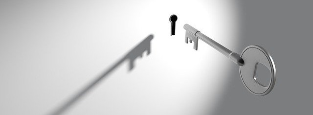 image of a key and a keyhole