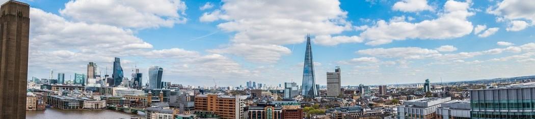 image of the london borough skyline